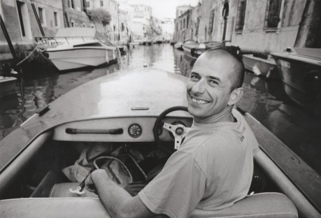 Philip Jones Griffiths, Gigi in Venice whilst making the book Agent Orange, 2003