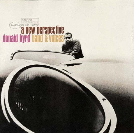 Donald Byrd, A New Perspective (Blue Note), Reid Miles (Design & Photo)