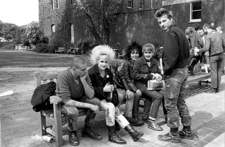 Janette Beckman, Punks, Worlds End, London 1978