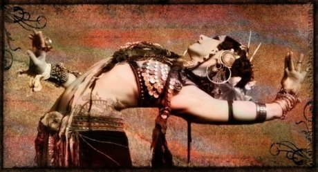The incredible, the magnificent, the marvelous Tribal belly dancer -Rachel Brice-