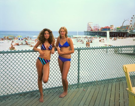Joe Maloney, Two Girls, Seaside Heights, New Jersey, 1980