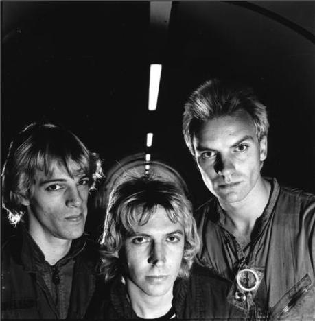 The Police. London. 1978. Photograph by Janette Beckman.