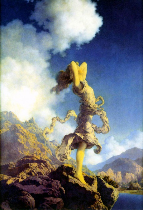 Maxfield Parrish, Ectasy, 1929