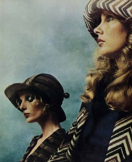 Biba fashion in The Daily Telegraph Magazine, September 1973.