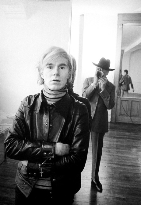 Andy Warhol photographed by Cecil Beaton, 1969.