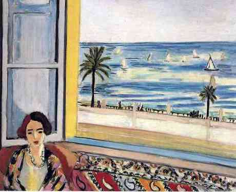 Seated Woman, Back Turned to the Open Window, 1922, Henri Matisse
