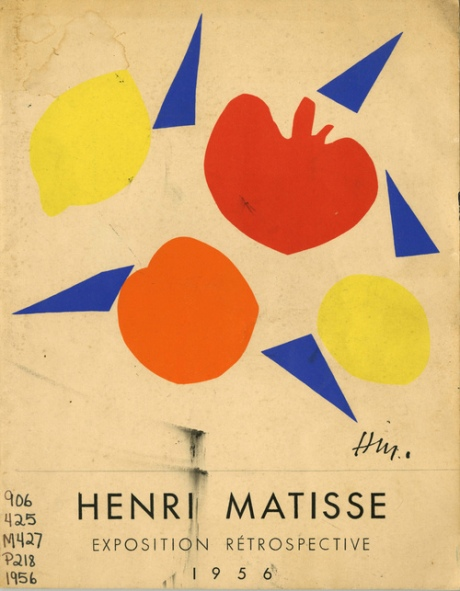 Henri Matisse Exposition Retrospective,  Muse National D'Art Moderne Paris Publication Date: 1956