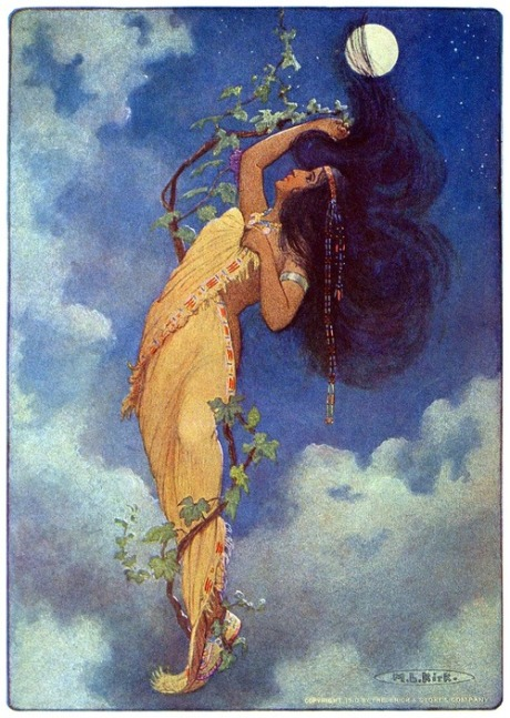 Maria Louise Kirk, from The story of Hiawatha, adapted from H. W. Longfellow by Winston Stokes, New York, 1910.