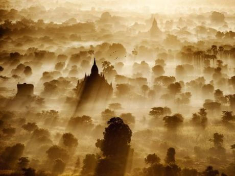 Balloon Ride, Myanmar - Dima Chatrov