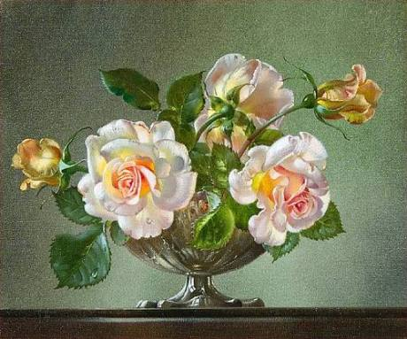 Cecil Kennedy 'Bowl of Roses'