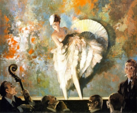 Everett Shinn 'French Faudeville' 1937