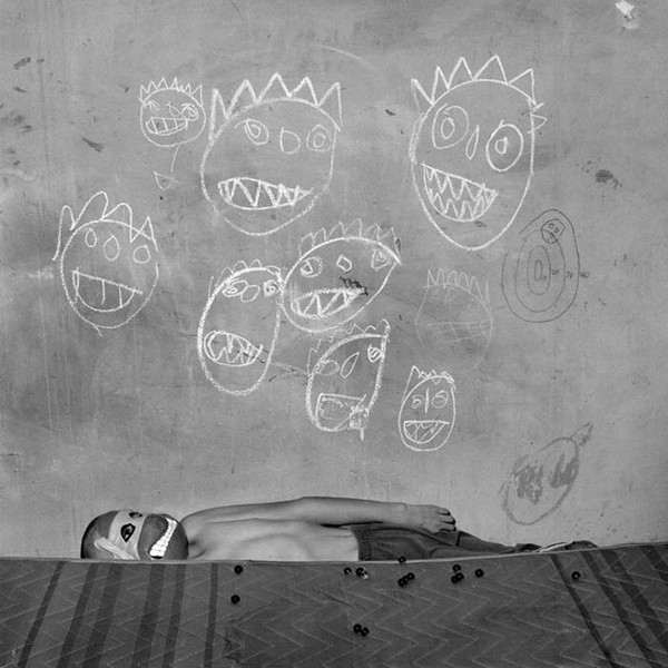 Room of the Ninja Turtles, 2003, Photograph by Roger Ballen