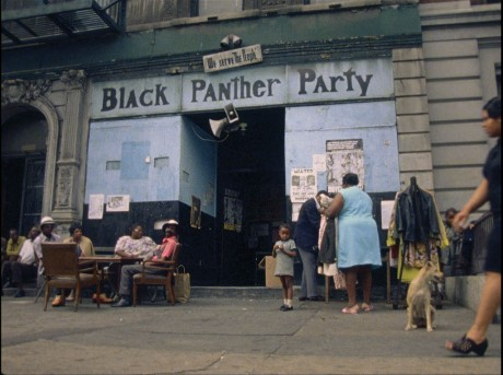 Black Panther Party headquarters, Harlem. © Göran Hugo Olsson
