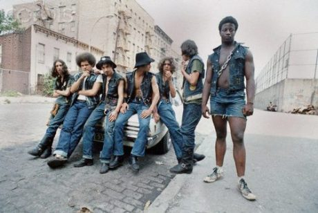 The Savage Skulls in the South Bronx, 1972.