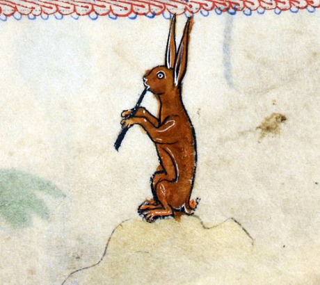 'The Rutland Psalter', England ca. 1260.     British Library, Add 62925, fol. 100r 331 notes