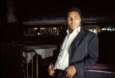 Muhammad Ali, Embers Steak House, Miami Beach, 1970 © Danny Lyon
