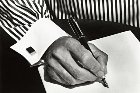 The poet's hand by Ralph Gibson, 2005