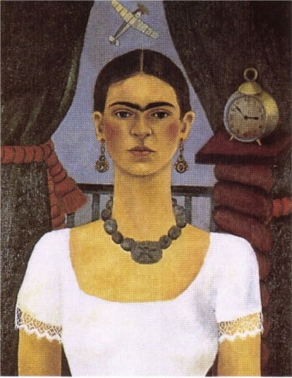 Frida Kahlo, Self Portrait - Time Flies, 1929