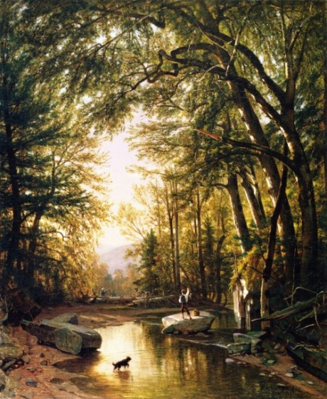 Thomas Worthington Whittredge - The Glen - 1862