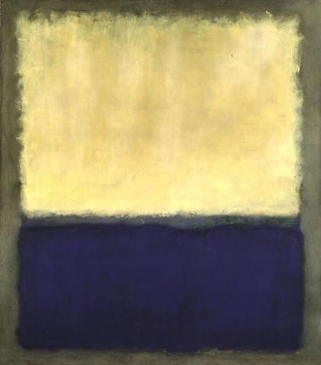 Mark Rothko, Light Earth and Blue