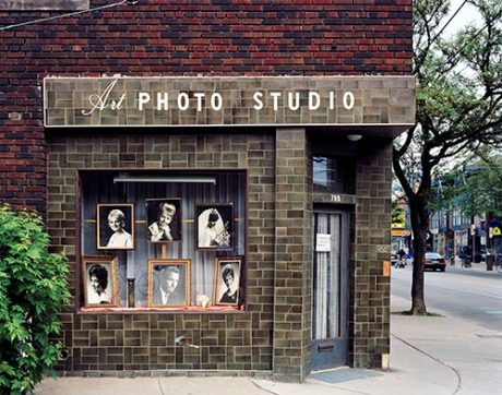 Robert Burley (Canadian, b. 1957). Art Photo Studio: Closed Due to Retirement, Toronto, Canada, 2005. Inkjet print. © Robert Burley. Courtesy of the Ryerson Image Centre
