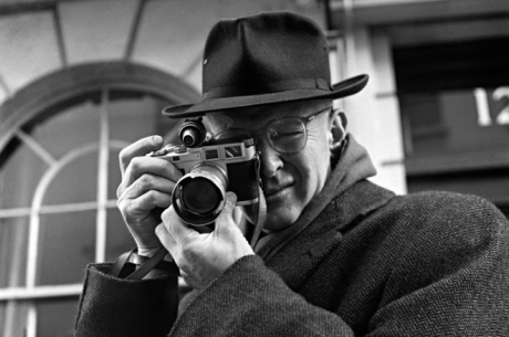 Cartier-Bresson. Photograph by Jane Brown