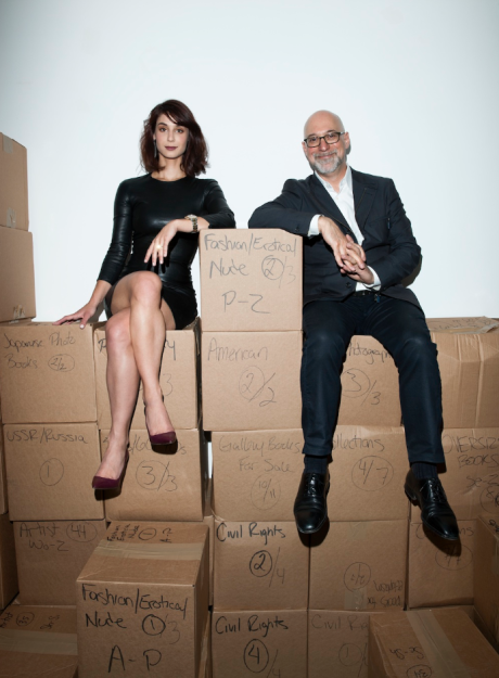 Andi Potamkin and Steven Kasher, photograph by Jake Chessum