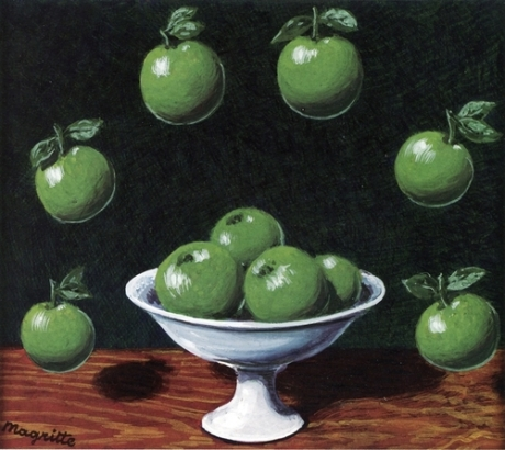 The Archimedes' Principle ~ Rene Magritte