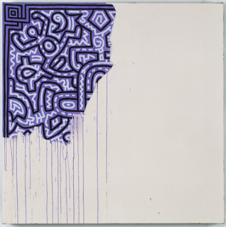 Keith Haring - Unfinished Painting (1989)