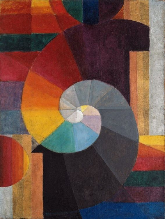In the Beginning, 1916 by Paul Klee