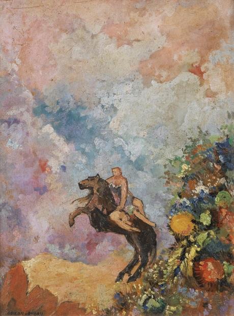 Pégase et la Muse, Odilon Redon 105 notes