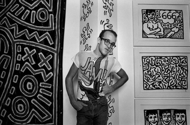 Keith Haring by Harvey Stein